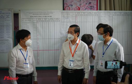 TPHCM: Các điểm thi phân luồng cả thí sinh, phụ huynh