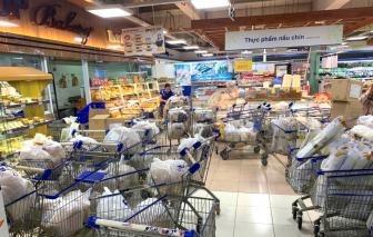 Gần 3.000 điểm bán thực phẩm, hàng thiết yếu hoạt động trong những ngày TPHCM giãn cách
