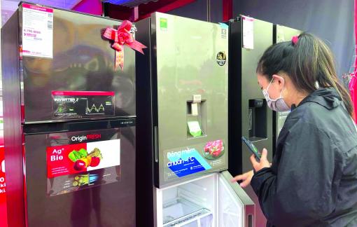 """Tủ lạnh """"khử mùi, diệt 99% vi khuẩn"""" chỉ là """"chiêu"""" bán hàng"""