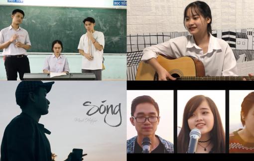 """""""Sóng"""" của Xuân Quỳnh và sáng tạo của học sinh lớp 12"""