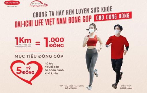 Dai-ichi Life Việt Nam ra mắt giải đi/chạy bộ trực tuyến vì cộng đồng 'Dai-ichi - Cung đường yêu thương'