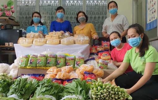 Hội LHPN Phú Nhuận hỗ trợ 6,25 tấn rau củ cho người dân có hoàn cảnh khó khăn