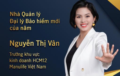 Đại lý Manulife Việt Nam được vinh danh 'Nhà quản lý đại lý bảo hiểm mới của năm'