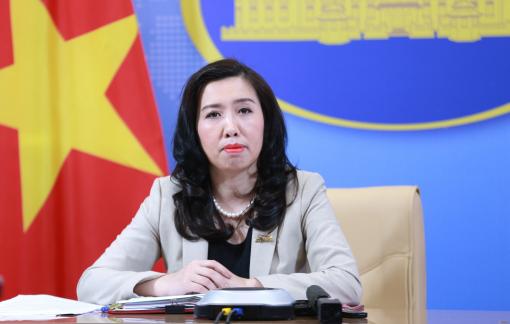Việt Nam ủng hộ giải quyết tranh chấp ở Biển Đông bằng ngoại giao và pháp lý