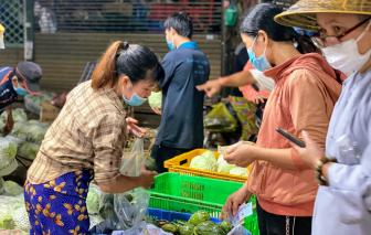 TPHCM: Tái mở cửa các chợ bị đình chỉ, nhưng giới hạn từ 2 đến 10 tiểu thương