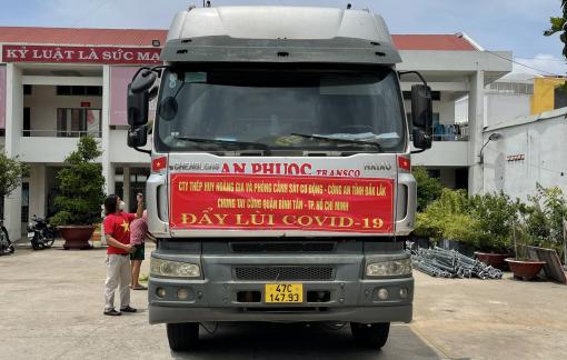 13 tấn rau quả từ Đắk Lắk về TPHCM