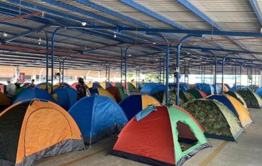 """Lều du lịch, đồ cắm trại... """"cháy hàng"""" trước giờ các doanh nghiệp hoạt động """"3 tại chỗ"""""""