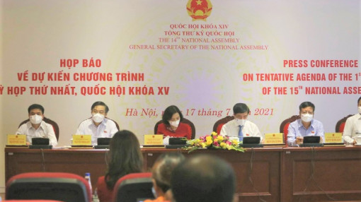 Quốc hội khóa XV sẽ kiện toàn 50 chức danh trong kỳ họp đầu tiên