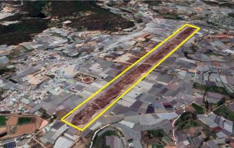 Lâm Đồng đề xuất chuyển đất sân bay Cam Ly sang đất dân dụng để phát triển đô thị