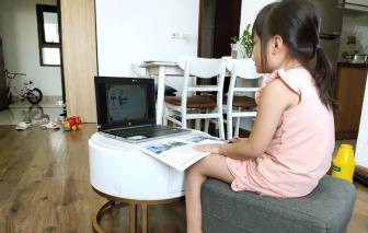 Nôn nóng cho con học tiền lớp Một trực tuyến