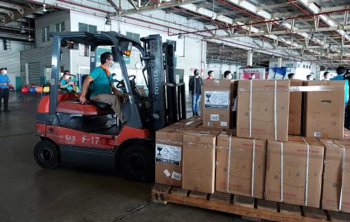 Tổng Liên hội Hội thánh Tin lành Việt Nam (miền Nam) tặng 50 máy tạo oxy cho các bệnh viện dã chiến