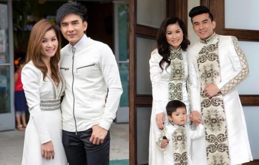 Trước khi ly hôn, Đan Trường và vợ thích diện trang phục giống nhau