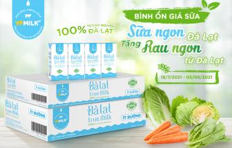VPMilk tặng kèm rau củ cho khách mua sữa