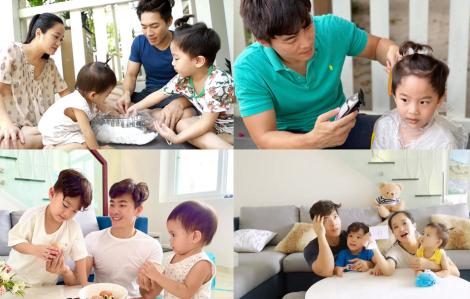 Clip: Quốc Cơ lần đầu nấu ăn cho vợ con, bày nhiều trò vui khi giãn cách xã hội