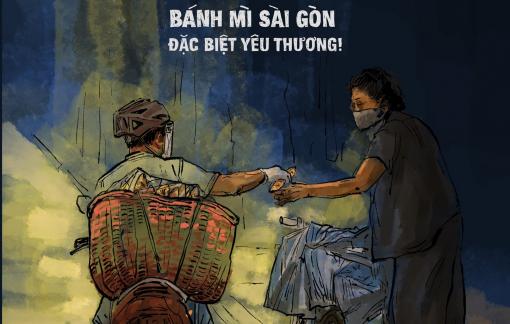 Thương nhớ Sài Gòn qua từng tranh vẽ