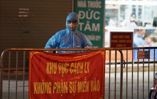 Xét nghiệm toàn bộ người dân chợ thuốc lớn nhất Hà Nội ngay trong đêm