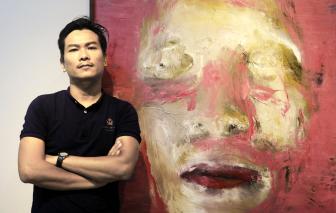 """Họa sĩ Nguyễn Công Hoài: """"Tôi không hề muốn dịch bệnh là nguồn cảm hứng sáng tác của mình"""""""