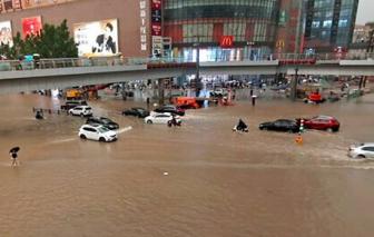 Trung Quốc cảnh báo vỡ đập, hàng chục triệu người bị ảnh hưởng do lũ lụt nghiêm trọng