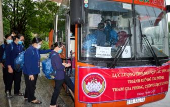 299 tình nguyện viên tôn giáo lên đường tiếp sức tuyến đầu chống dịch