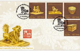 Chiêm ngưỡng bộ tem bảo vật quốc gia về thời Trần, Nguyễn và Phật giáo