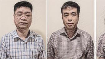 Bắt giam đội trưởng và 2 kiểm soát viên quản lý thị trường tại Hà Nội