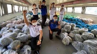 Ngày mai, 25 tấn nông sản tiếp tục lên tàu cao tốc hỗ trợ người dân TPHCM