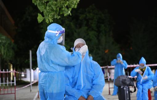 400 công dân đầu tiên của Quảng Nam về từ TPHCM đã đến nơi an toàn