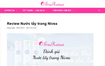 """EvaReview - Chuyên trang """"review"""" sản phẩm cho phái đẹp """"nhỏ nhưng có võ"""""""