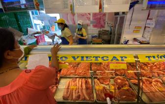 Vissan bác bỏ thông tin ngừng cung cấp thịt về các cửa hàng, siêu thị...