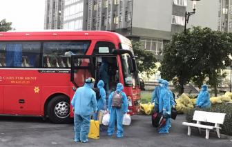 Một hợp tác xã xe buýt tham gia vận chuyển người mắc COVID-19