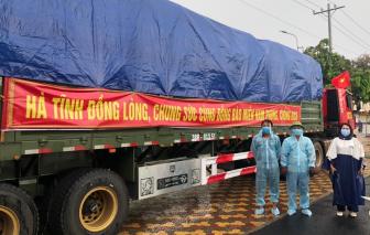TPHCM tiếp nhận nhiều hàng hóa hỗ trợ thiết yếu