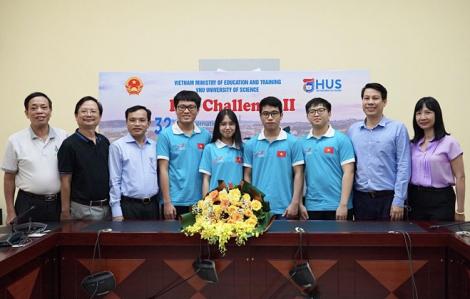 Việt Nam giành Huy chương Vàng Olympic Toán học, Vật lý và Sinh học