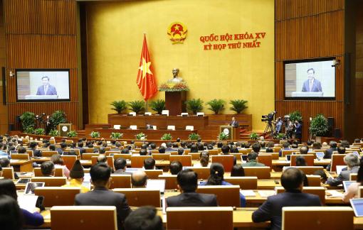 Kỳ họp thứ Nhất tiếp tục điều chỉnh, bế mạc sớm hơn dự kiến 3 ngày