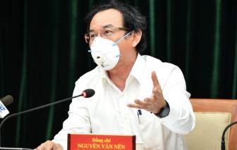 """Bí thư Thành ủy TPHCM Nguyễn Văn Nên: """"Thành phố đang ở thời khắc hết sức quan trọng"""""""