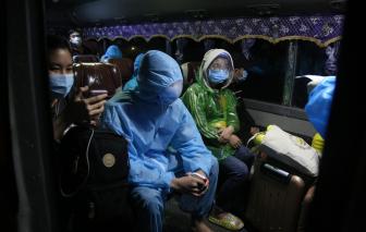 Chuyến tàu 0 đồng chở hơn 800 hành khách hồi hương về đến Hà Tĩnh