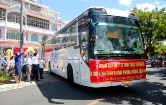 Đoàn y, bác sĩ Thừa Thiên - Huế lên đường hỗ trợ Bình Dương chống dịch