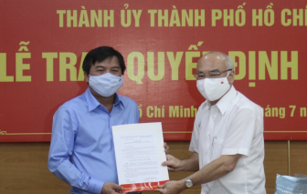 Ông Tăng Hữu Phong giữ chức Tổng biên tập Báo Sài Gòn Giải Phóng