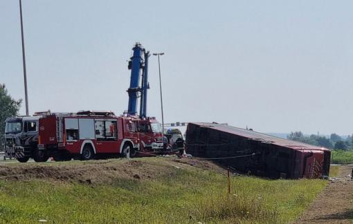 55 người thương vong sau vụ tai nạn giao thông nghiêm trọng tại Croatia