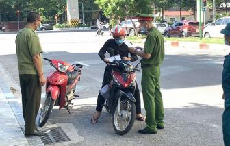 1 ngày, Hà Nội phạt hơn 1,5 tỷ đồng các trường hợp vi phạm giãn cách xã hội