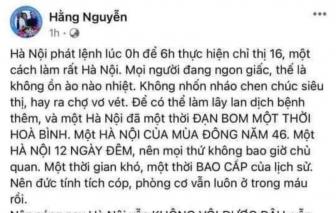 """Sở TTTT TPHCM mời chủ Facebook """"Hằng Nguyễn"""" làm việc về nội dung phân biệt vùng miền"""
