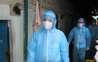 Lãnh đạo TPHCM thăm, kiểm tra các hoạt động phục vụ công tác phòng, chống dịch COVID-19