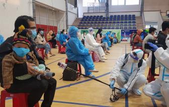 400 công dân đầu tiên từ TPHCM đã về đến Phú Yên