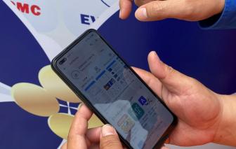 Trúng thưởng gần 1 tỷ đồng khi cài App EVNHCMC CSKH