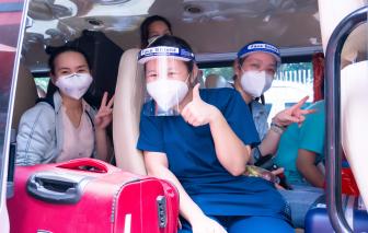 Y, bác sĩ Bệnh viện Hùng Vương lên đường hỗ trợ Bệnh viện thu dung điều trị COVID-19 số 16