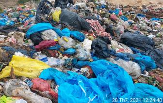 Đà Nẵng: Phát hiện xe trộn rác thải sinh hoạt với rác thải y tế dừng ở công ty có dịch COVID-19