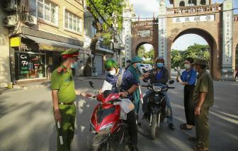 Hà Nội: Lập chốt kiểm soát người ra vào xã, phường