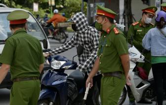 5 ngày đầu thực hiện giãn cách, Hà Nội xử phạt hơn 4,6 tỷ đồng