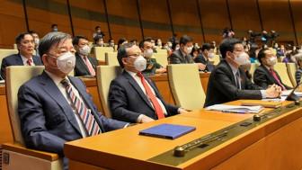 Quốc hội thông qua cơ cấu thành viên Chính phủ, giảm 1 Phó thủ tướng