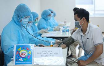 Bộ Y tế đồng ý để TPHCM thí điểm rút gọn quy trình tiêm chủng vắc xin COVID-19