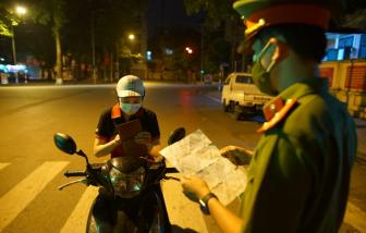 Hà Nội ban hành mẫu giấy đi đường trong thời gian giãn cách xã hội